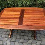 stół tekowy na taras