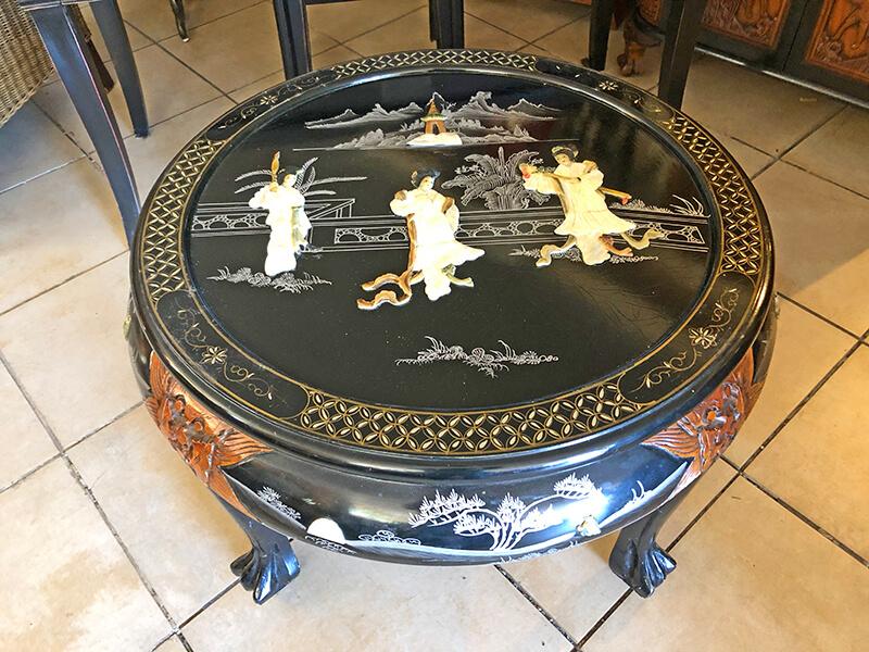 Stolik chiński okrągły