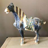 chiński koń z terakoty