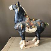 Koń z terakoty