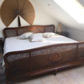 łóżko biedermeier