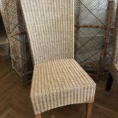 krzesło wyplatane